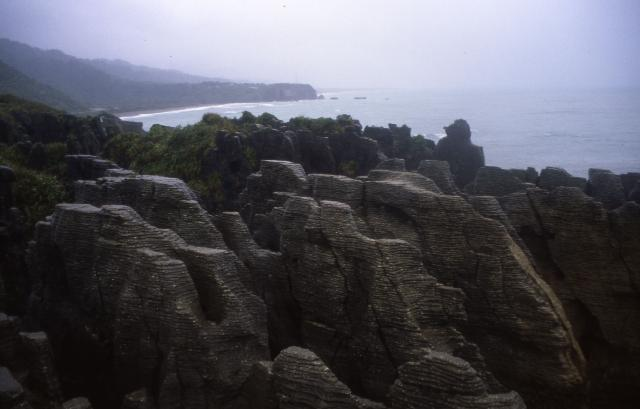 Pancake rocks at the dolomite point