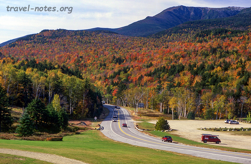 Rte 16 at Glen House, New Hampshire