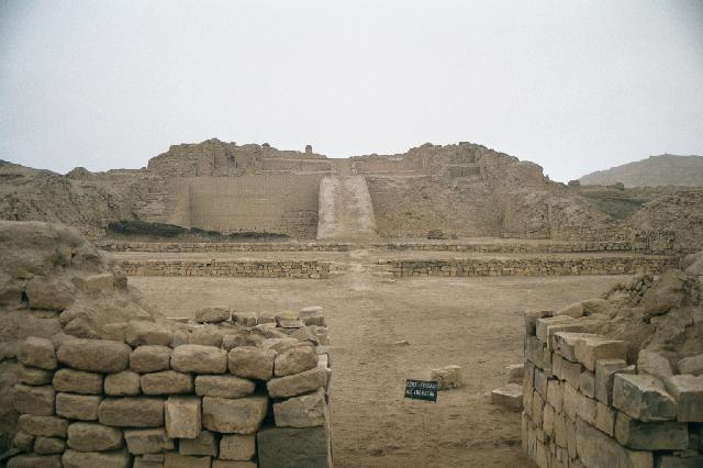 ichac temple - Peru : The Coastal Desert