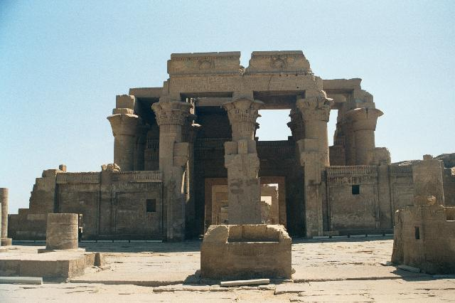 The twin temple at Kom Ombo